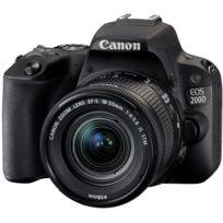 CANON - Appareil photo reflex 200D 18-55