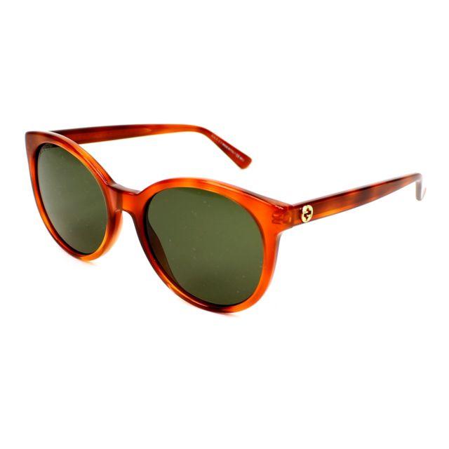 Gucci - Gg-3820-S 056 1E Havane - Lunettes de soleil - pas cher ... 06d19d7a6a2b
