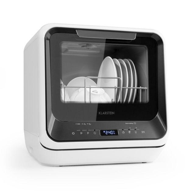 KLARSTEIN Amazonia Mini lave-vaisselle 6 programmes écran LED classe A - noir