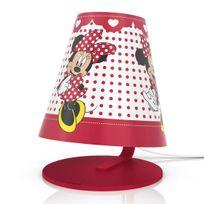 Philips - Disney - Lampe à poser Led Minnie Mouse H24cm - Luminaire enfants designé par