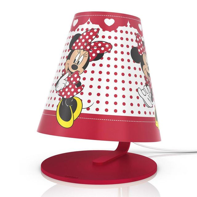 Mouse Poser H24cm Led À Minnie Disney Lampe CerxWBod