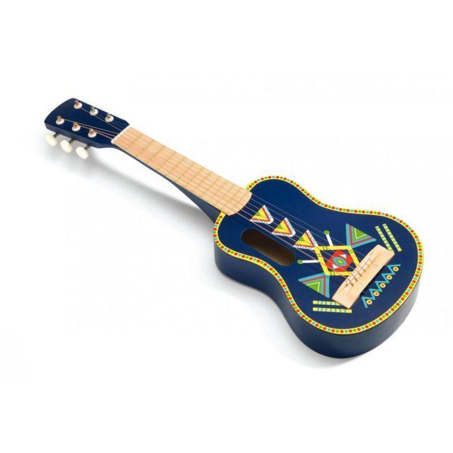 Djeco Guitare 6 cordes métalliques