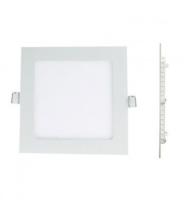 Europalamp Spot Encastrable Led Carre Downlight Panel Extra-Plat 25W Blanc Neutre 4000k