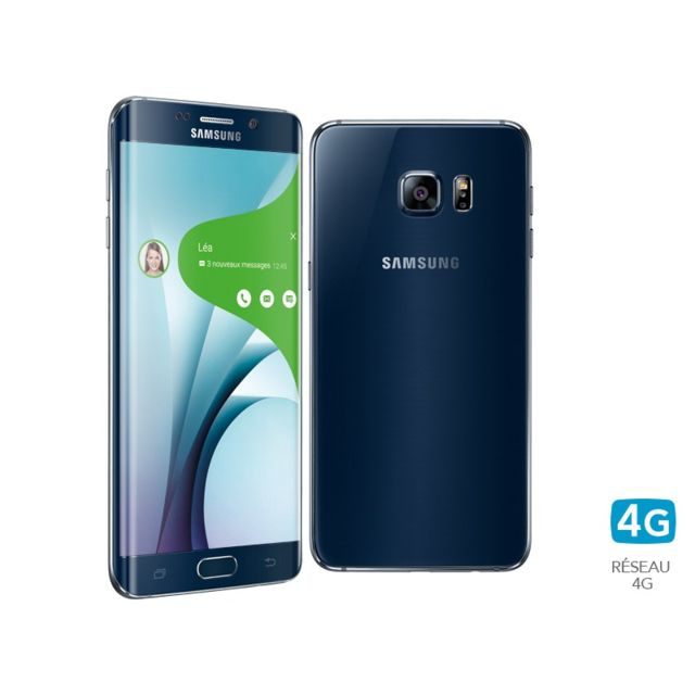 Samsung - Galaxy S6 Edge Plus 32Go noir