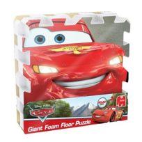 Cars - Puzzle de sol Géant en mousse 90x90cm Disney - 9 pièces