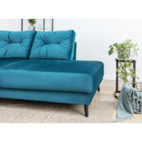 Canape bleu - catalogue 2019 - [RueDuCommerce - Carrefour]