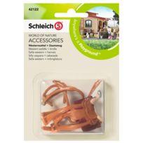 Schleich - Selle western + harnais