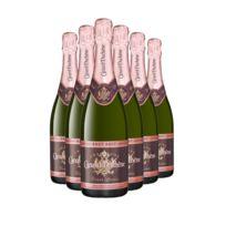 Champagne Canard-duchene - Cuvee Leonie Rose Lot de 6 bouteilles