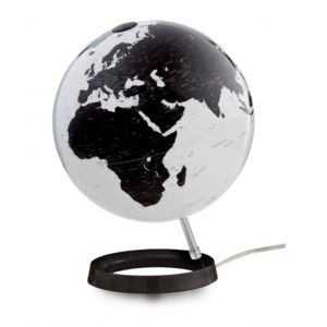 d co maison mappemonde lumineuse globe g ographique design bright white pas cher achat. Black Bedroom Furniture Sets. Home Design Ideas