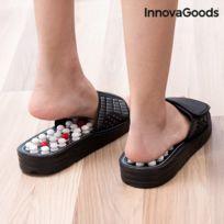 8d1557b3427 Sandales avec points d acupuncture - claquette ton chaussure de plage  piscine soins des