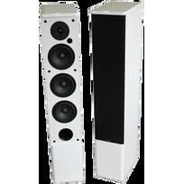 ADVANCE ACOUSTIC - Paire d'enceintes colonne bluetooth amplifiée Air 150 Blanche