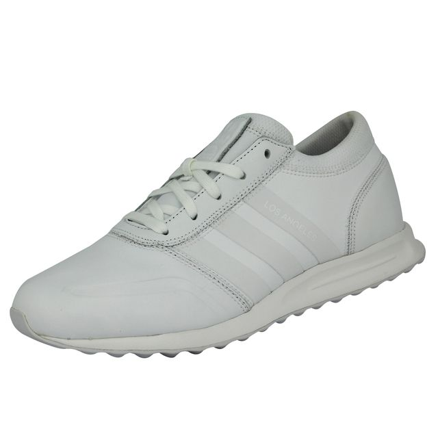 best cheap ff651 62d81 Adidas originals - Adidas Originals Los Angeles Chaussures Mode Sneakers  Homme Cuir Blanc