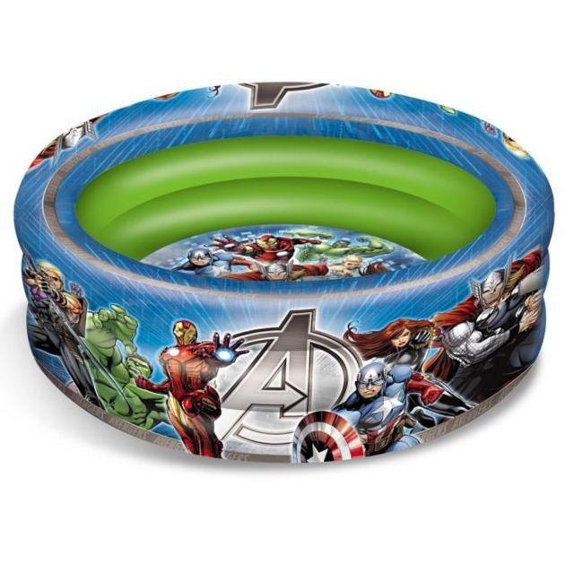 PISCINE DE JEUX - PISCINE GONFLABLE - PATAUGEOIRE PISCINE Ø 100 - Avengers - Garçon - A partir de 3 ans