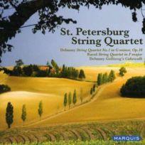 Marquis - Debussy, Ravel : Quatuors à cordes. Quatuor St. Petersbourg
