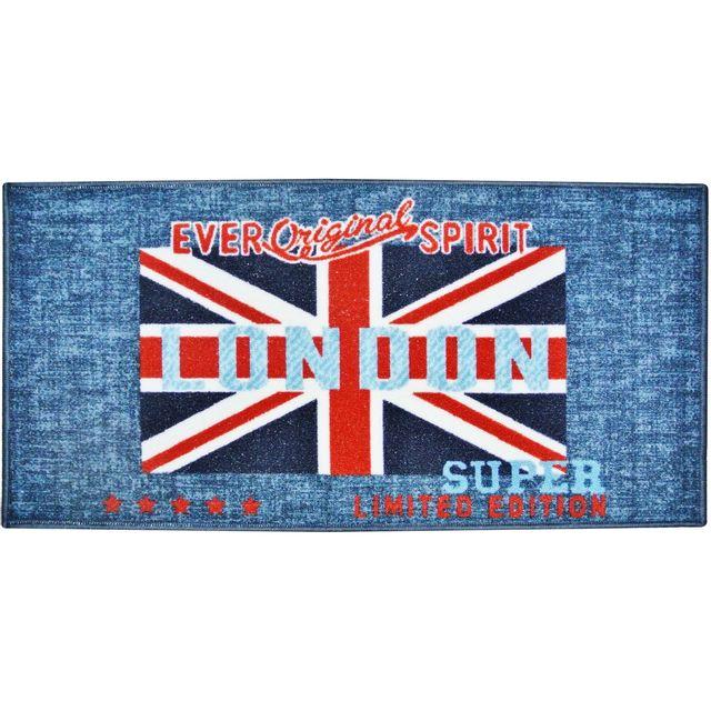 promobo tapis descente de lit d co londres salle de bain cuisine drapeau royaume uni london. Black Bedroom Furniture Sets. Home Design Ideas