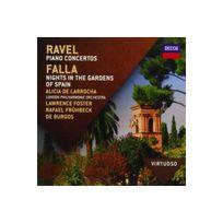 Decca - Concertos piano : Nuits dans les jardins d'Espagne