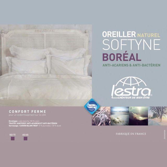 Lestra - Oreiller moelleux garnissage naturel duvet/plumettes Softyne - 50X70cmNC
