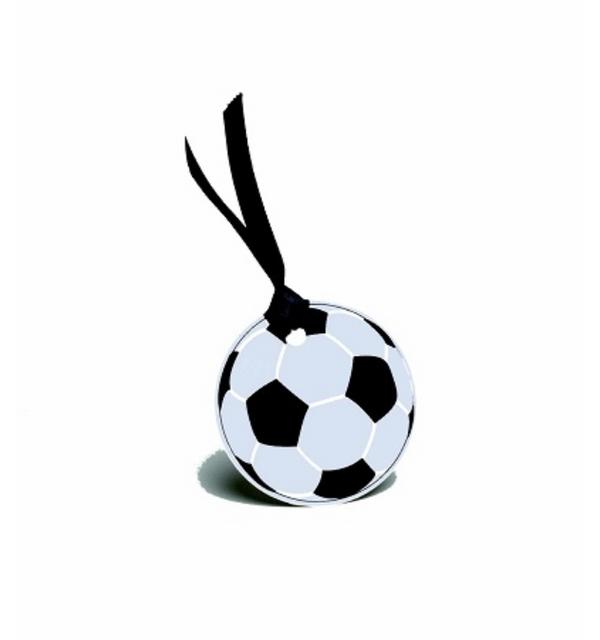 1001decotable vignette ballon de foot x4