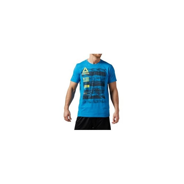 185a7b692af Reebok - T-shirt One Series SpeedWick Performance Pw3R manches courtes - pas  cher Achat   Vente Tee-shirts