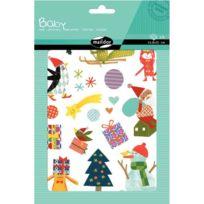 Maildor - Gommettes Baby 6 planches : Noël