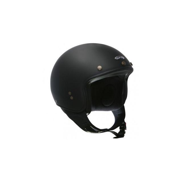 Gpa Biker Noir Mat Pas Cher Achat Vente Casques Jet