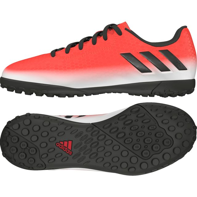 online store reasonable price quite nice Adidas - Chaussures junior Messi 16.4 Tf rouge/noir/blanc ...