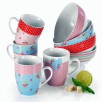 Table & Cook - Set De 4 Mugs Liberty