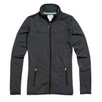 Freddy - Veste Fitness zippée couleur noir gris vert pour femme
