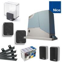 Nice - RobusKit 400 Motorisation portail coulissant + Accessoires supplémentaires