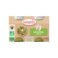 Babybio - Pots Légumes Verts dès 4 mois