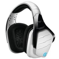 LOGITECH - G933 Artemis Spectrum RGB Wireless 7.1 Surround Gaming Headset Blanc