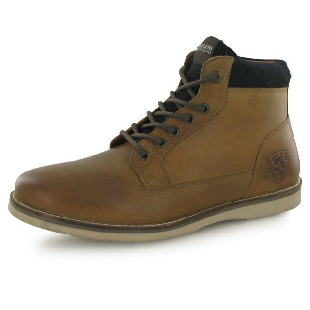Redskins - Boots Babylone Marron Homme