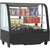 CASSELIN - vitrine réfrigérée à poser 100l noir - cvr100ln