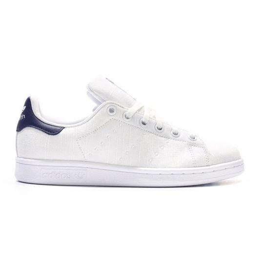 Adidas originals Chaussures Stan Smith Toile W BlancBleu