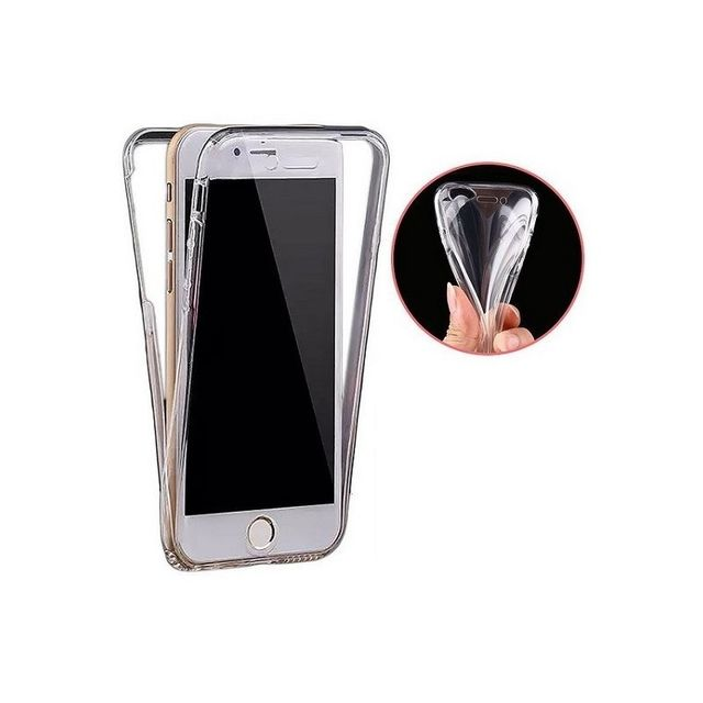 coque integrale avant arriere silicone gel invisible pour apple iphone 6 6s
