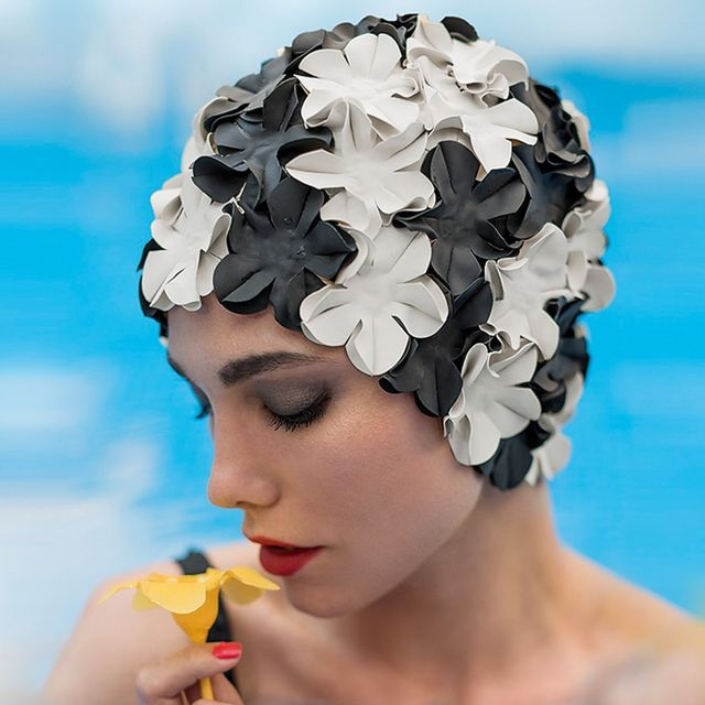 Fashy Bonnet De Bain Fleurs Pas Cher Achat Vente Bonnets