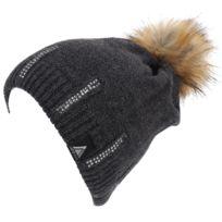Lhoste - Bonnet à pompon Magou anth bonnet Gris 59879