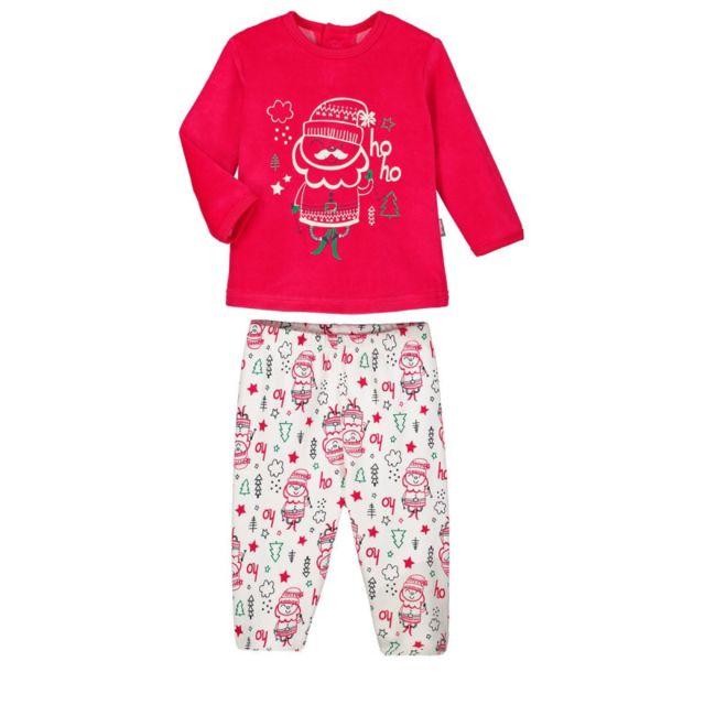 0fb42ca8da67e Petit Beguin - Pyjama bébé 2 pièces Ho Ho - Taille - 18 mois Rouge ...