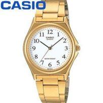 Casio - mtp1150N 7B Montre à aiguilles Homme Bracelet acier Couleur Or