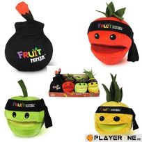 Jazwares - Fruit Ninja - Assortiment Peluche sonore 13cm