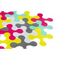 Prince Lionheart - Tapis de bain puzzle multicolore Bathmat