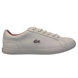 Chaussures De Sport À Faible Lacoste Blanc Lerond sGHVQ6tIA
