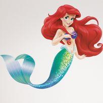 Roommates - Stickers géant Ariel La Petite Sirène Disney
