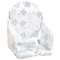 Looping - Coussin de Chaise Haute Lapin Cassis