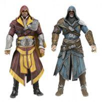 Assassins Creed - Assassin's creed Brotherhood - Pack de 2 Figurine Ezio Auditore - Neca
