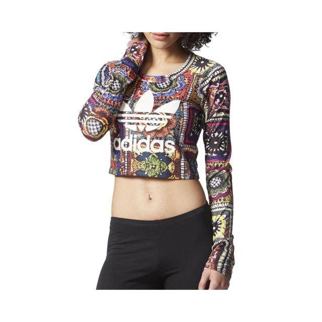 Adidas Tee shirt Chrochita Noir Femme Noir 44 pas cher