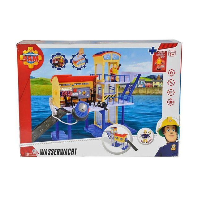 Simba Toys 109257663 Pompier Sam - Le quartier général des maîtres nageurs