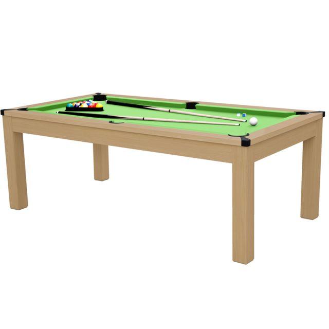 Rendez Vous Deco Table rectangulaire transformable multi jeux 3 en 1