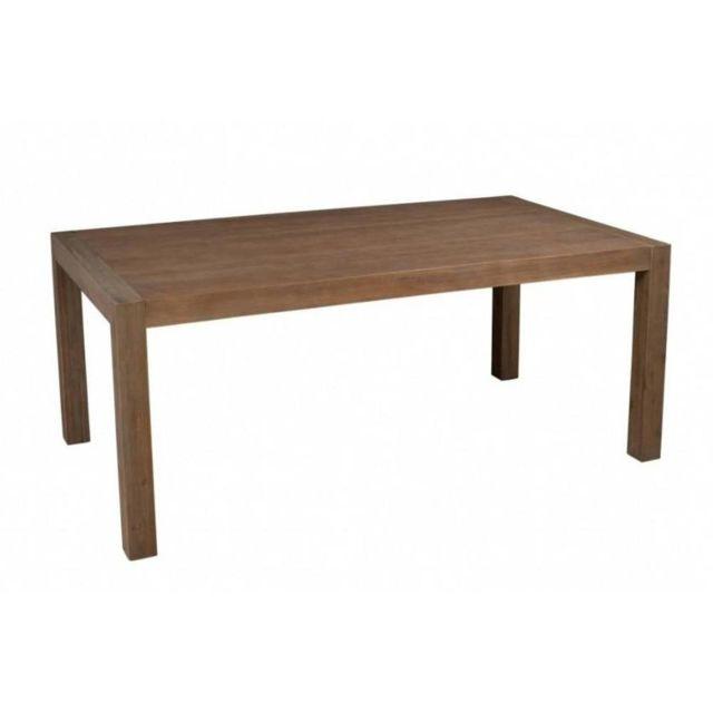 Inside 75 Table repas extensible Nina 180/230 x 100 cm en acacia