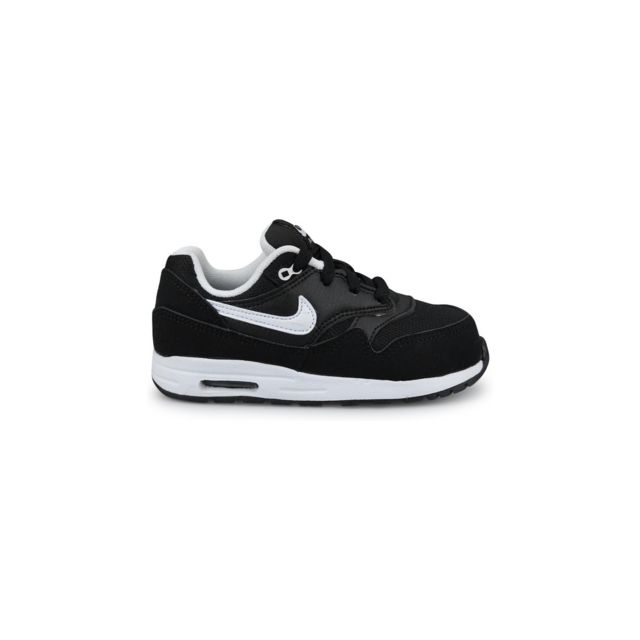 great deals 2017 lower price with factory price Nike - Air Max 1 Bebe Noir - pas cher Achat / Vente Baskets ...